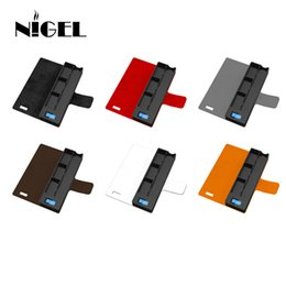 Nigel Pod Vape Caja de carga Universal Compatible Vape Pen Cigarrillos electrónicos Cargador Pods Caja de soporte Caja Mini Power Bank desde fabricantes