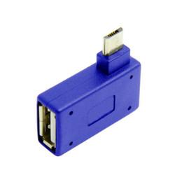 2019 rechtwinkliges netzteil Cwxuan 90 Grad rechtwinkliger Micro-USB-zu-OTG-Adapter und Stromanschluss günstig rechtwinkliges netzteil
