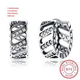 e21e6beebc914 2019 11mm SMALL Authentic Real 100% 925 Sterling Silver Fine Jewelry ...