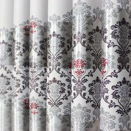 stringa di paglia all'ingrosso Sconti Tende in raso europeo per la protezione del soggiorno Stampa tessuto per tende oscuranti Zero Shear