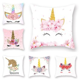 Terrific New Unicorn Printed Casual Cushion Cover Square Polyester Home Decor Pillow Case Couch Chair Rest Pillow Case Cjindustries Chair Design For Home Cjindustriesco