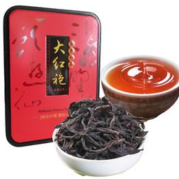 Boîte chinoise en Ligne-C-HC010 De haute qualité Dahongpao Oolong thé Chine Da hong pao thé noir avancée organique chinois régime cadeau boîte emballage des aliments verts