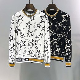 2019 modell koreanisches hemd Explosion Modelle für Männer Langarm-T-Shirt Pullover Herbst koreanischen Herbst Kleidung Frühling und Herbst Modelle Rundhals Shirt Trend grundiert s günstig modell koreanisches hemd