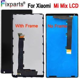"""reparar reparo xperia Desconto 6.4 """"para xiaomi mi mix display lcd de tela de toque digitador assembléia peças de reposição para xiaomi mi mix mx lcd frete grátis"""