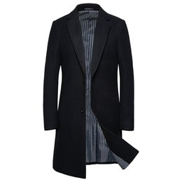 2020 New Winter Coat Coat Fashion Mens Wool Jacket Long From Burtom, $27.89 | DHgate.Com