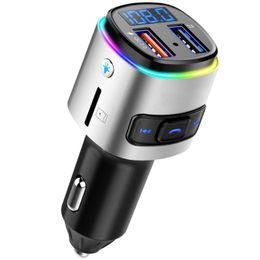 2019 telecomando originale del dvd BC41 auto lettore MP3 trasmettitore FM lettore musicale U della carta del disc / TF ricevitore Bluetooth a mani libere caricatore per auto QC3.0 chiamata USB