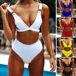 2019 mulheres mais quentes micro bikini Venda quente Sexy 5 Cores Escolha Alta cintura Biquíni Maiô Feminino Swimsuit Micro Swimwear Mulheres Bikini set mulheres mais quentes micro bikini barato