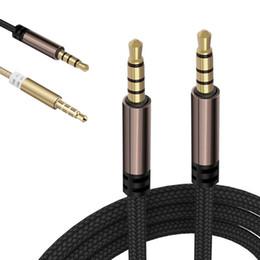 Métal aux jack écouteurs audio audio 1M / 2M / 3M pour iphone apple ipad ipod Samsung Huawei Xiaomi LG Haut-parleur MP3 Tablet PC Tous les jack 3,5 mm ? partir de fabricateur
