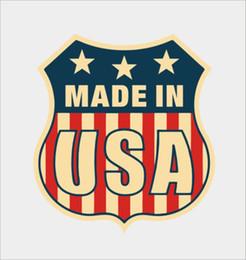 macbook vinyl Rabatt Für Amerikanische Flagge American Car Laptop Macbook Helm Auto Vinyl Aufkleber Aufkleber Persönlichkeit Zubehör