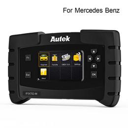 Outil mercedes obd2 en Ligne-Autek IFIX702-M OBD2 scanner pour l'outil de diagnostic automatique de transmission EPB ODB2 de l'ABS de SBS de moteur de voiture de Mercedes Benz