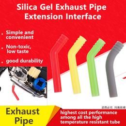 Tubo de silicone de extensão para hsp traxxas hpi 1/10 1/8 modelos em escala nitro rc peças do carro tubo de escape de alta temperatura desligar de Fornecedores de hpi rc carros
