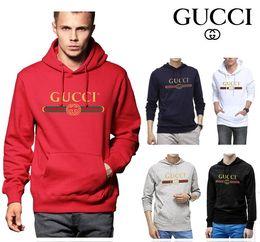 Designer-kapuzenpullover männer online-High-End-Anzug Gucci Markendesigner Herren Jogginganzüge bedruckte Hoodies Slim Fit Trainingsanzüge für Herren Jackensweatshirts