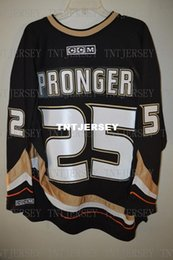 Cheap custom CCM 2007 Stanley Cup Anaheim Ducks CHRIS PRONGER 25 Jersey Mens  Personalized stitching jerseys 23173ff32