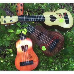 Hawaiianische gitarre online-Kinder Geschenk 21 Zoll 15 Bünde Mahagoni Sopran Ukulele Gitarre Sapele Palisander 4 Saiten Hawaiian Gitarre Musikinstrumente