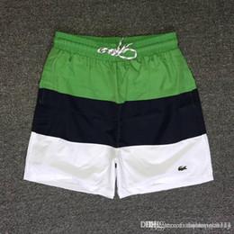 Maiôs de quadril on-line-Frete grátis Por Atacado-Quick Dry Mens Praia Shorts Marca Mens Shorts Casual Swimwear Maiôs Shorts Dos Homens Hip Hop Mens