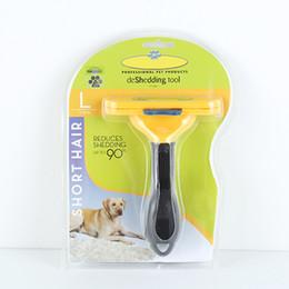 Brosse de toilettage pour animaux de compagnie Chien Remover Brosse pour chat Outils de toilettage pour salon de coiffure ? partir de fabricateur