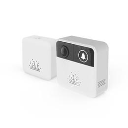 Intercomunicador androide online-Wifi Inalámbrico Video Timbre 720 P HD Seguridad Intercomunicador Mini Soporte de Dos Vías de Audio Timbre de la puerta Cámara de Control de APLICACIÓN Para iOS Android