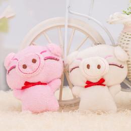 1 Adet Sevimli Karikatür Domuz Dekor Bebek Çocuk Peluş Oyuncak Piggy Dolması Oyuncak Büyük Hediye Cep telefonu aksesuarları Renk Rastgele Sıcak Satmak nereden