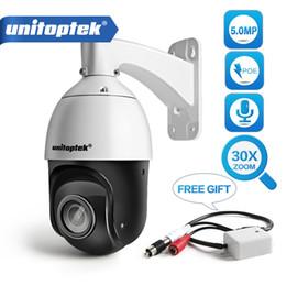 H.265 5MP POE IP PTZ Caméra Audio Vitesse Dôme CCTV Caméra De Sécurité Onvif Extérieur Pan Tilt 30X ZOOM Jour Nuit Laser IR 100m P2P ? partir de fabricateur