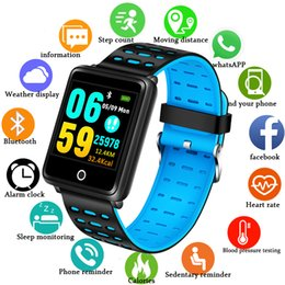 telefoni cellulari Sconti BANGWEI Smart Watch Cardiofrequenzimetro Sport Fitness Tracker Sonno Monitor Impermeabile Sport Watch Band per IOS telefono Android