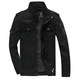 Argentina NUEVO 2018 para hombre Verde Caqui 12 colores militar chaqueta de invierno de carga más el tamaño M-XXXL 5XL 6XL Casual hombre Chaquetas marca de ropa del ejército Suministro