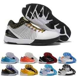 Kobe IV 4 nouvelles chaussures de basket ball Zoom 4s Protro le jour du repêchage Hornets Carpe Diem Del Sol Sport Pour Hommes Baskets Sneakers Taille