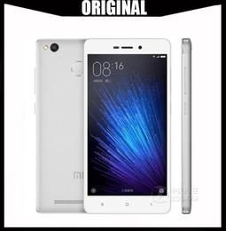 2019 смартфон octa core 2gb Оптовая Оригинальный Xiaomi Redmi 3X Touch ID 64-бит Octa Core 2GB 32GB MIUI 7 5.0 дюймов IPS 1280 * 720 HD 13MP камера OTG 4G LTE смартфон дешево смартфон octa core 2gb