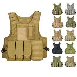 Canada Tactical Vest Uniforme de combat de l'armée CS Vest 11 Color Offre