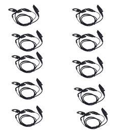Трековые крючки онлайн-10x PTT / VOX Ear-крючок Микрофон Динамик для Motorola GP328 / HT1250 / MTX8250 PTX700 + Track