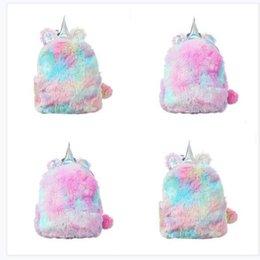 90ed5828fd sacs d'école pour filles Promotion Sacs Designer Animal Licorne Femmes Sacs  à Dos de