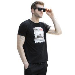 2019 camiseta oem Camiseta de hombre con gráfico 100% camiseta de algodón estampada Camisetas Boohoo OEM Support camiseta oem baratos