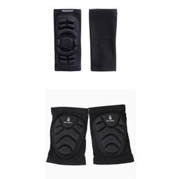 Pastiglie di gomito online-All'ingrosso Gomitiere per ginocchiere Mountain Bike Set di protezioni per il ciclismo Supporto per ginocchia Ginocchio MTB Downhill Nastro Protector per ginocchio