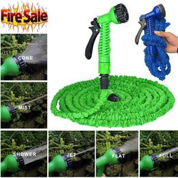 Giardinaggio giardino online-2019 irrigazione giardino tubo tubo autolavaggio allungato magico giardino espandibile forniture tubi dell'acqua tubo strumenti di pulizia auto 15m