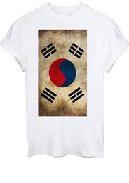 T-shirt Coreana Corea del Sud Fashion T Shirt Vintage Uomo Donna Unisex 1428 Divertente T-Shirt con cappuccio in cotone 100% T-shirt con cappuccio supplier hoodies south korea da hoodies corea del sud fornitori