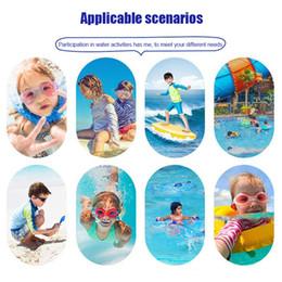 Traje de baño completo de spandex online-Traje de baño para niños Manga larga Protección solar UV Traje de neopreno de cuerpo completo Piscina de buceo N66