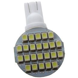 Lâmpadas led rv on-line-Branco T10 194 921 W5W 24 SMD 1210 LED Painel de Luz Do Carro RV Land Scaping Clearance Sidelight Wedge Lâmpada de Luz lâmpada