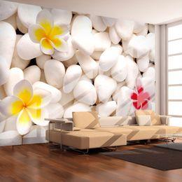 2019 projetos de fundo de tv Papel de parede do Mural 3D Cobblestone Flower Modern Living Room Sofa TV 3D Background Design Papel de parede Murale decoração da parede desconto projetos de fundo de tv
