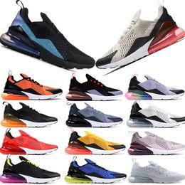 Viola top donne online-Alta qualità Nike Air Max 270 OG ritorno al futuro Futrue Regency viola scarpe da corsa Uomo Be True CNY 2019 Dusty Cactus University Gold Uomo Donna Designer Scarpe