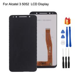Pour Alcatel 3 5052 5052D 5052y Assemblée Écran Tactile Digitizer Assemblée Pour Alcatel 3 5052 Écran D'affichage LCD Téléphone Pièces ? partir de fabricateur