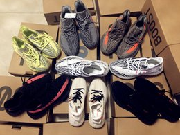 golf gps téléphone Promotion Avec Box 350 V2 True Form Hyperspace Clay Static Belgua Running Shos Semi-Sang Orange KanyeSneakersyeezy350 West Sneakers A8