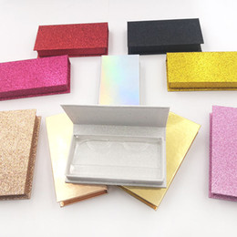 Behälterfach online-NEUE 1 stücke Make-Up Wimpern Lagerung Leere Falsche Wimpern Pflege Box Container Halter Fach Werkzeug verschiedene farben Wimpern Box