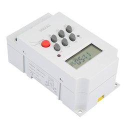 TM630A 12V DC / AC220V Mini LCD Digital Microcomputador Power Control Temporizador de alta qualidade de