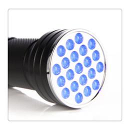 2019 zubehör schuh flachen fuß 21 LED UV Ultra Violet Schwarzlicht Taschenlampe Mini Taschenlampe Tragbare Lampe Fälschungen Falschgeld Detektor Neu
