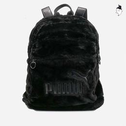 2019 marke neue designer rucksack frauen kunstpelz rucksäcke schultaschen für jugendliche mini weichen plüsch umhängetaschen samt tasche freizeit style2 von Fabrikanten
