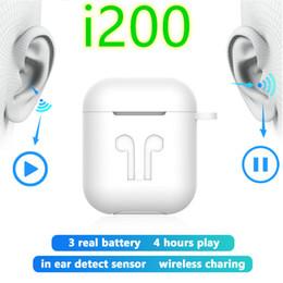 Argentina TWS i200 auricular de Bluetooth PK W1 H1 golpecito del sensor de control de carga Auriculares Wireless PK i100 i1000 i10tws i12 i30 i60 i80 i100 TWS Suministro