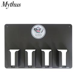caixa de ferramentas de salão Desconto Profissional de Alta Temperatura De Plástico Barber Tools Storage Case Prático Clipper de Cabelo Titular Suporte Para Salão de Cabeleireiro Acessórios