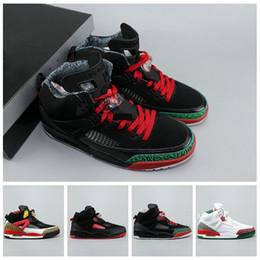 2019 colpisce le scarpe da atletica 2019 Spike Lee Designer Mens Basketball Shoes dimensioni Verde Rosso di alta qualità Bianco Nero atletica leggera Sport Sneakers 40-45 colpisce le scarpe da atletica economici