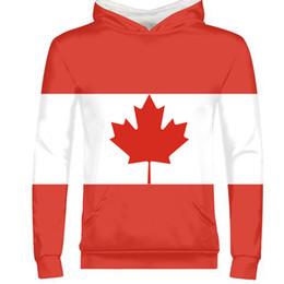 КАНАДА мужчины молодежь студент мальчик сделай сам заказное имя номер страна пуловер нация флаг ca логотип печать колледжа фото толстовка от
