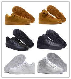 Canada Nouveau style Il suffit de faire af1 07 Bas 1 Chaussures de course DLX atmos aq0928 Maxes 1 Femmes Noir Blanc Orange Mode Canvas Sneakers Taille 36-45 Offre