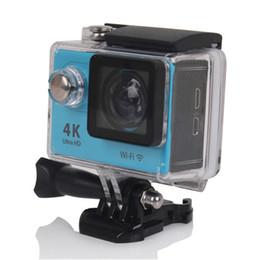 wifi câmera de esporte ao ar livre Desconto H9 Esportes dv 4 K Câmera Esportiva WiFi Mergulho Ao Ar Livre À Prova D 'Água Mini 12 Milhões de Pixel Ultra HD Camera DHL frete grátis